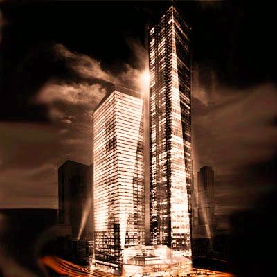 Башня ОКО в Москва-Сити